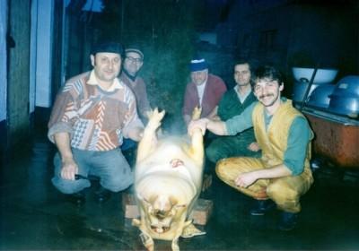 Pig-slaughter