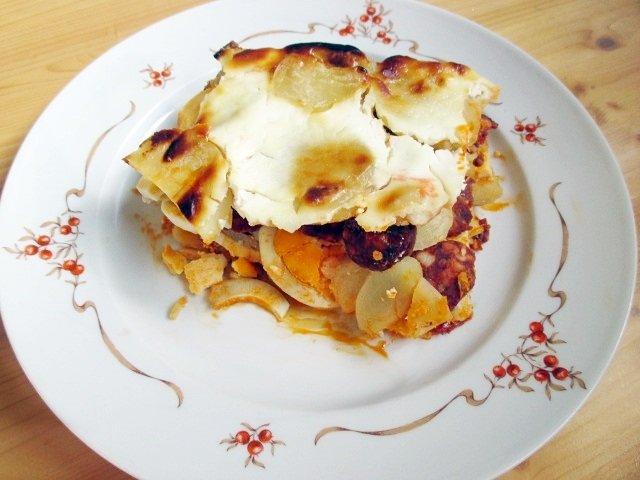 Layered potatoes / Rakott krumpli