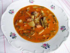 Palots soup / Palócleves