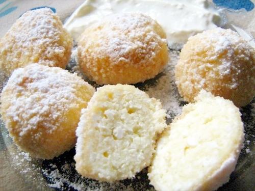 Cottage cheese dumplings