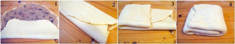 Crackling scones folding