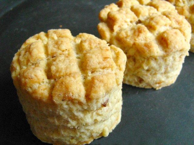 Crackling scones - Tepertős pogácsa