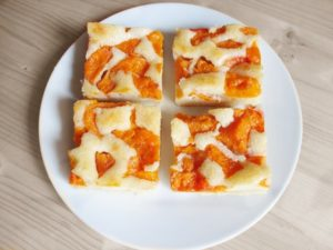 Apricot slices