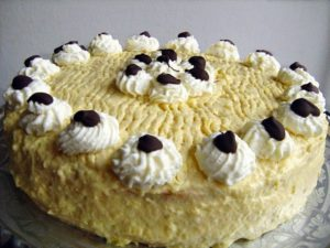 Russian cream torte