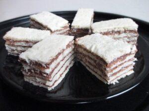 5 layer cocoa slices