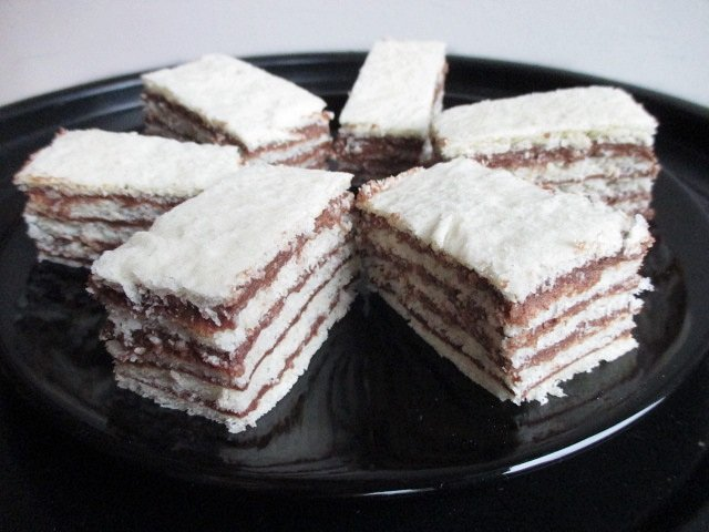 5 layer cocoa slices