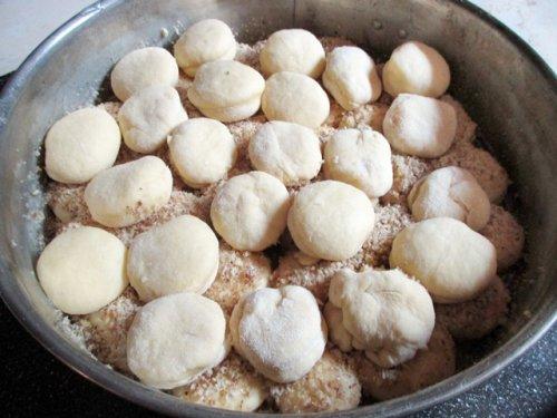 Golden walnut dumplings - Aranygaluska