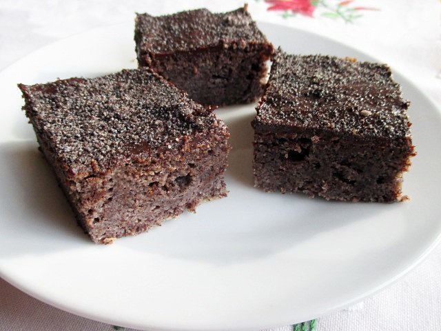 Chocolate-raspberry-poppy seed squares