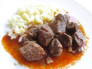 Hungarian venison stew