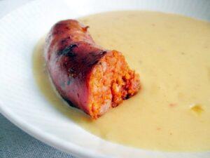 Yellow split pea stew / Sárgaborsó főzelék