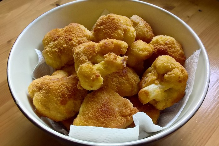 Breaded cauliflower - Rántott karfiol