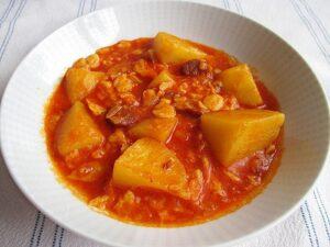 Paprikás krumpli / Potato stew