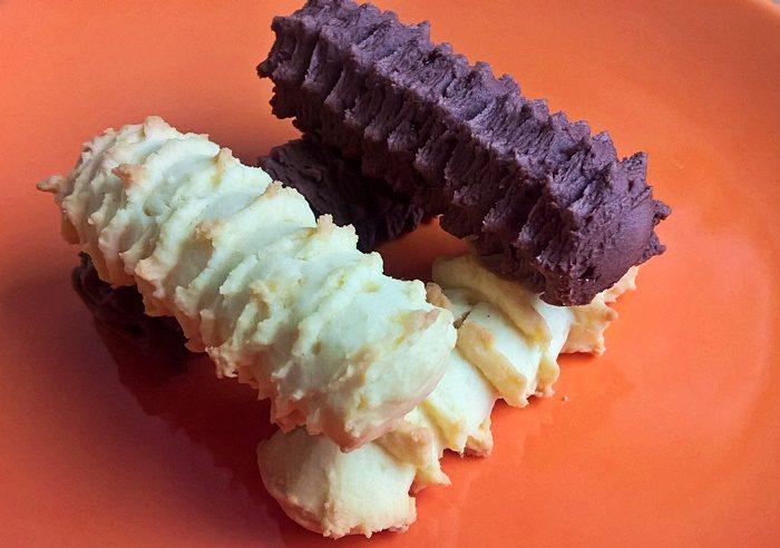 Spritz cookies - Darálós keksz