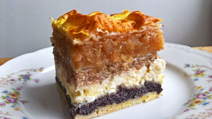 Százrétű rétes / Hundred layered strudel