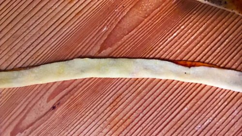 Kötöttgaluska-leves / Knot noodle soup