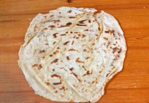 Rongyos lapótya - Hungarian flatbread