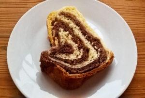 Two-tone bundt cake