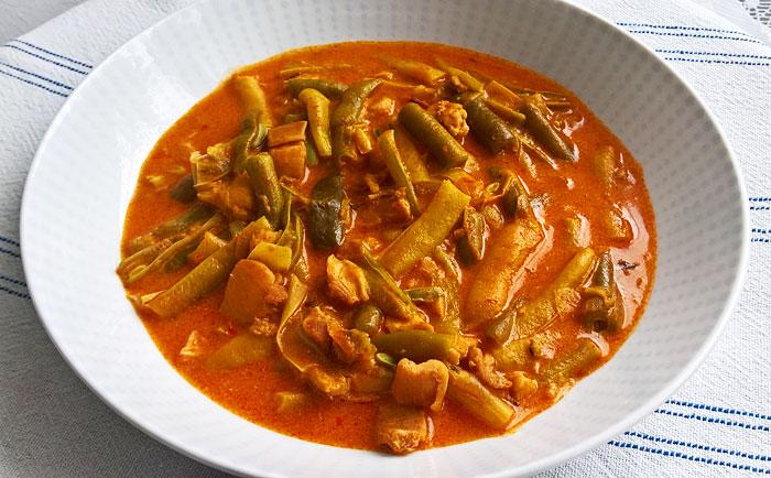 Rácbab - Serbian bean stew