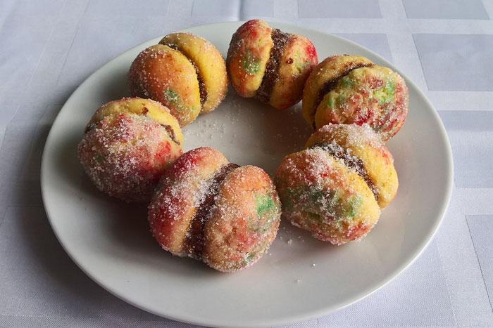 Peach biscuits