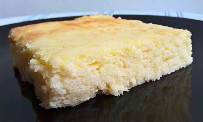 Darafelfújt - Oven baked semolina pudding souffle